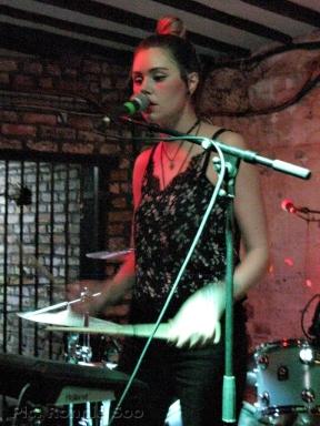 REWS drummer Collette Williams