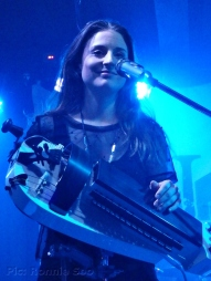 Anna Murphy with her hurdy-gurdy