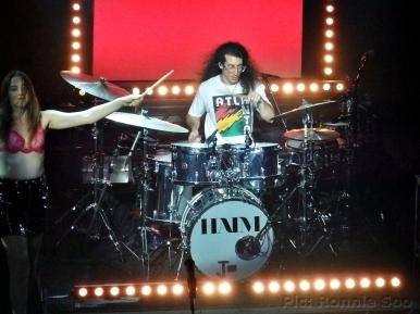 Live drummer Jody Giachello